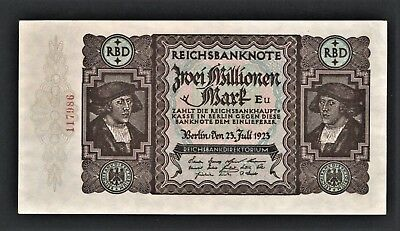 vad - GERMANY - 2 MILLIONEN MARK BANKNOTE - P# 89a  *** UNC ***