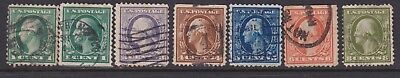 United States Early Stamps Unchecked