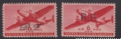 United States Early Stamps Unchecked #4 O/P R.F MNH