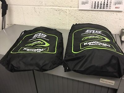 Kawasaki Race Team Bsb Mx Carry Bags Job Lot New Ex Display Motorcycle Motocross