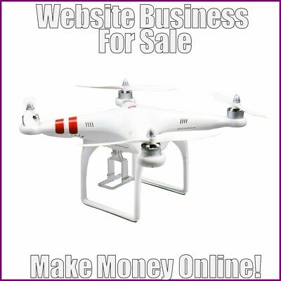 PHOTOGRAPHY DRONES Website Earn £59 A SALE|FREE Domain|FREE Hosting|FREE Traffic