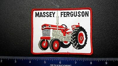 Embroidered patch rare MASSEY FERGUSON tractor SMIT ESTATE 1970s extraordinary
