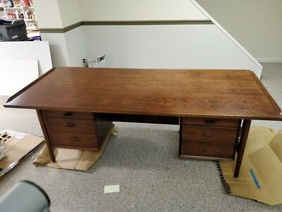 MCM Rosewood Executive Desk - Sibast