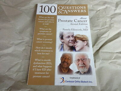 100 Questions And Answers Prostate Cancer Centocor Biotech Inc Book