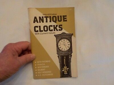 1978-1979 edition antique clocks with current values