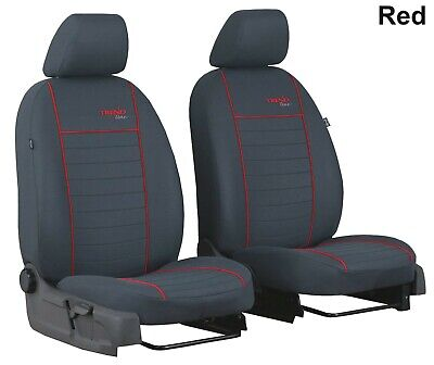 """Citroen C4 Cactus 2014 Onwards Fabric """"Trend"""" Tailored Front Seat Covers"""