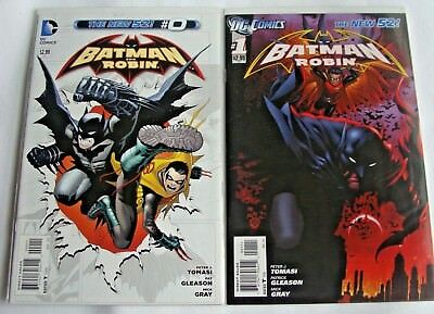 Batman and Robin 1-12 +0 (2011, DC New 52) LOT of 13 Court of Owls/Hell Bat Suit
