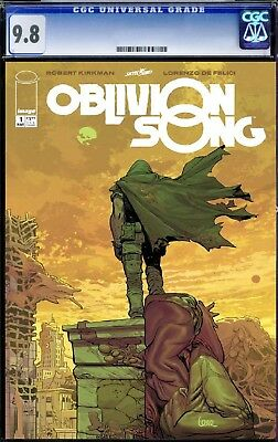Oblivion Song #1 CGC 9.8  *fast tracked*