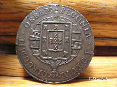 Brazil 1821/1 R XL(40) reis Almost Uncirculated
