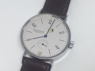 Nomos Glashutte Limited Edition 58/125 TANGENTE 35 POWER RESERVE