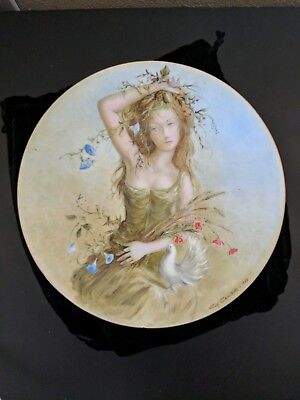 Guy Cambier Summer Girl Plate