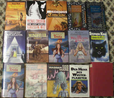 33 Gebundene Bücher Science Fiction, Fantasy, Perry Rhodan u.a.