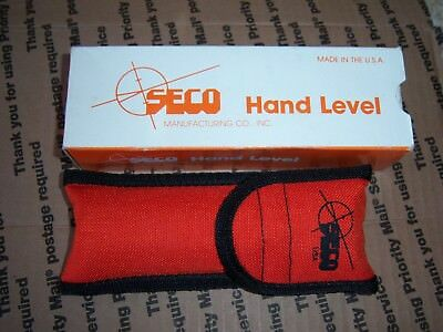 SECO #4200 Hand Level w/Case & BOX  VERY CLEAN LOOKS NEW FREE SHIPPING