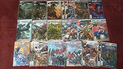 Transformers GI Joe comic lot (23) with rare variants!