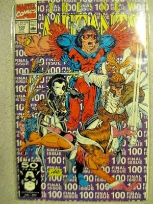 The New Mutants # 100 Nm/m 1991 1St Appearance X-Force 1St Print Rob Liefeld