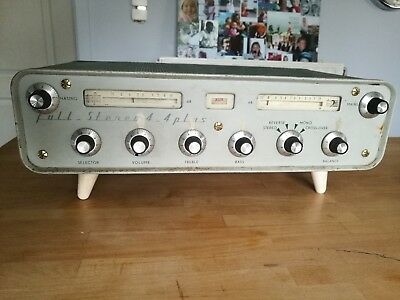 Vintage stereo Tube Amplifier - MBLE Philips's Full Stereo 4 + 4 Plus