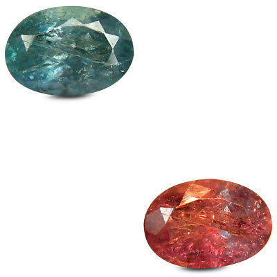 0.56 ct Oval (6 x 4 mm) Un-Heated Color Change Alexandrite Loose Gemstone