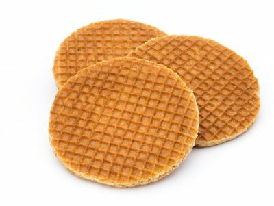 Dutch Syrup Caramel Wafers.Waffle.Biscuits.Stroopwafels 2, 4, 6, 8, 20, 40, 100!