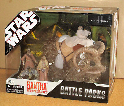 Bantha with Tusken Raiders - 30th Anniversary Collection - Hasbro – NEU+OVP!OOP!