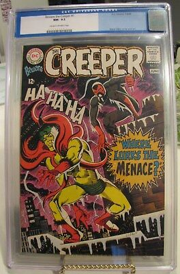 BEWARE THE CREEPER  #1 CGC  9.2  NM- Universal Blue Label CLASSIC DITKO COVER!
