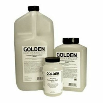 GOLDEN ACRYLIC : Porcelain Restoration Glaze Gloss : 236ml : 946ml