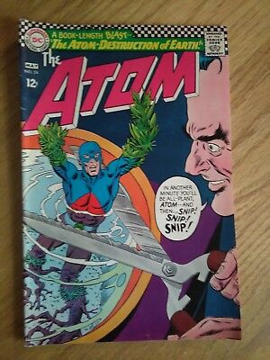 The Atom Silver Age Comic Book #24 (Apr-May 1966, DC)