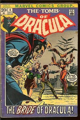 The Tomb Of Dracula 5 Issues #4, 5, 7, 8, 9,  1972 Gene Colan