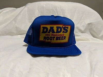 Vintage 80's DAD'S Root Beer Trucker style Snap-Back Hat
