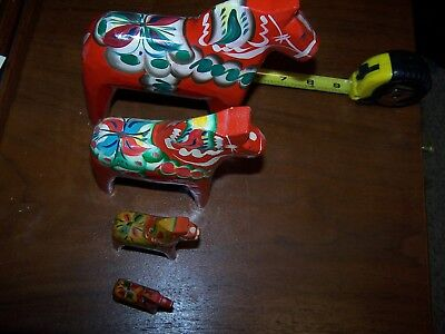 Dala Horse Collection Nils Olsson Sweden