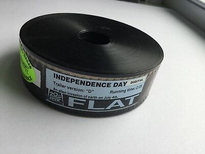 1996 Original Independence Day 35MM Movie/Film Trailer Version D Will Smith ID4