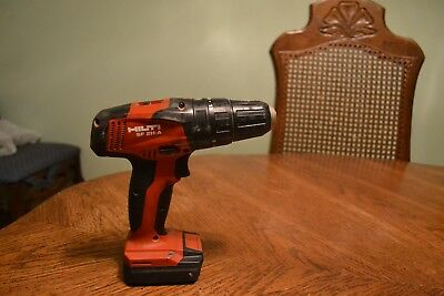 Hilti Impact Drill Sf 2H-A With Battery