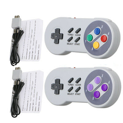 Wireless Gamepad Controller for Super Nintendo SNES Classic Mini Edition Console