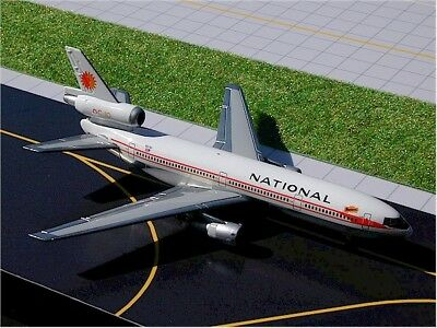Gemini Jets (Gjnal169) National Airlines Dc10-30 1:400 Scale Diecast Model