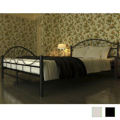 bett schwarz metall mit lattenrost ohne matratze eur 1 00 picclick de. Black Bedroom Furniture Sets. Home Design Ideas