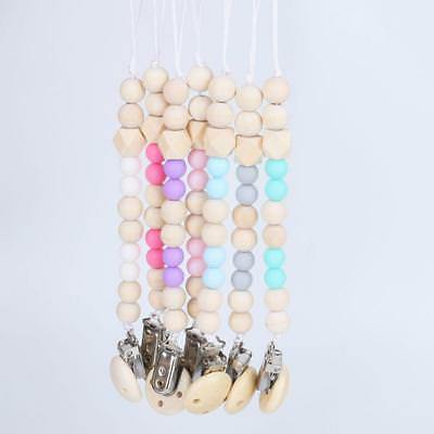 Baby Pacifier Clips Crystal Soother Chain Dummy Soother Leash Strap Nipple 6A