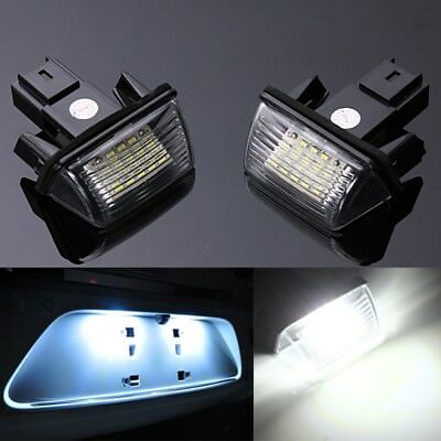 2x 18 LED SMD Luces de Matrícula Para Peugeot Citroen BERLINGO 207 306 6340.A3