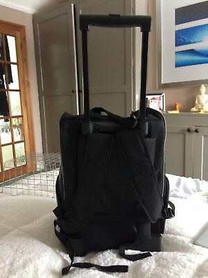 BNWT Pet Dog Cat Carrier Trolley Backpack Wheeled Tote Rucksack Travel