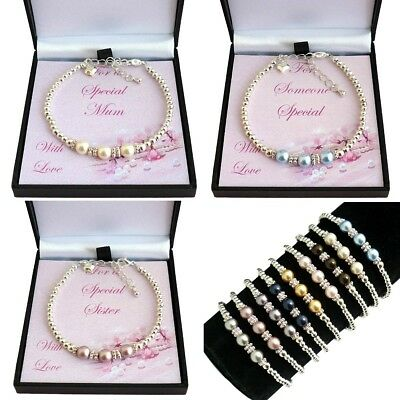 Bracelets for Women or Girls, Gift for Mum, Sister, Daughter,Someone Special etc