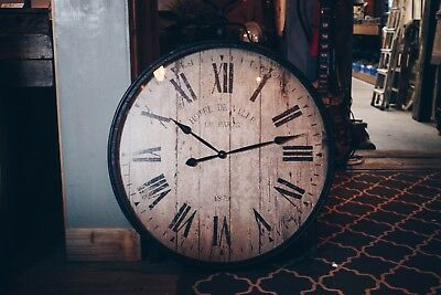 Large Pocket Watch Wall Clock/Vintage Style/Decor/Antique Look/Traditional/31.5""