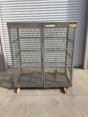 "Justrite Cylinder Locker model 23007 60""x65""x32"""