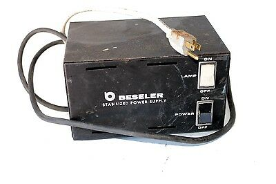 Beseler Dual Dichro DGA Stabilized Power Supply 8191