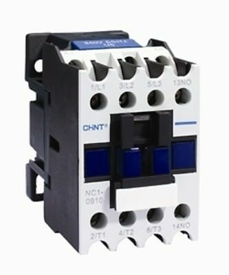 Chint NC1-0910 240V Contactor 4kw 3 Main + 1 NO Aux 20A AC1 240V 4kw