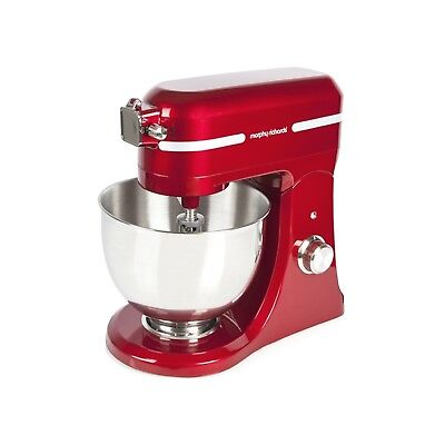 Morphy Richards Stand Mixer Diecast 800W Red 400007