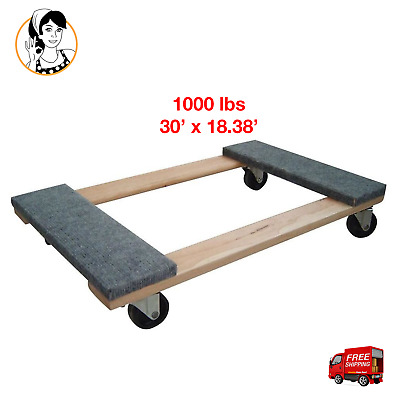 Heavy-duty Furniture Moving Dolly 1000 Lb Capacity Hand Truck Wheel Safe Dolly