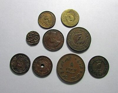 9 Coins - India-Princely States - 496a