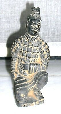 Figurine Guerrier Asiatique Chinois 13cm_Asian Chinese Figure
