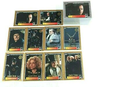 Australia Release--Batman Returns Movie (Dynamic 1992) Base Card Set (150)-Rare