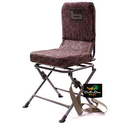 Terrific New Banded Swivel Blind Chair Padded Seat Hunting Stool Theyellowbook Wood Chair Design Ideas Theyellowbookinfo