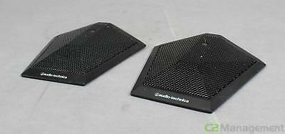 Lot Of 2 Audio Technica AT871UG Uniplate Unidirectional Condenser Microphones