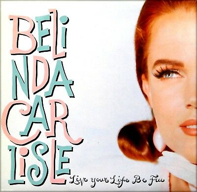"Vinyl Maxi Single 12"" - Belinda Carlisle - Live Your Life Be Free - 1991 - Rar"
